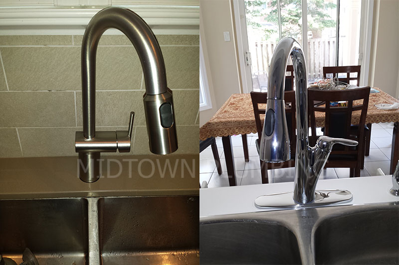 Kitchen faucet repair and instalation