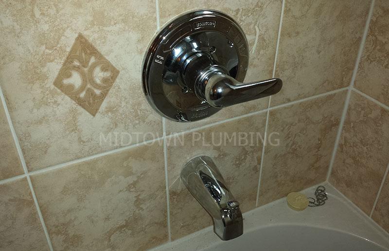 Shower faucet repair