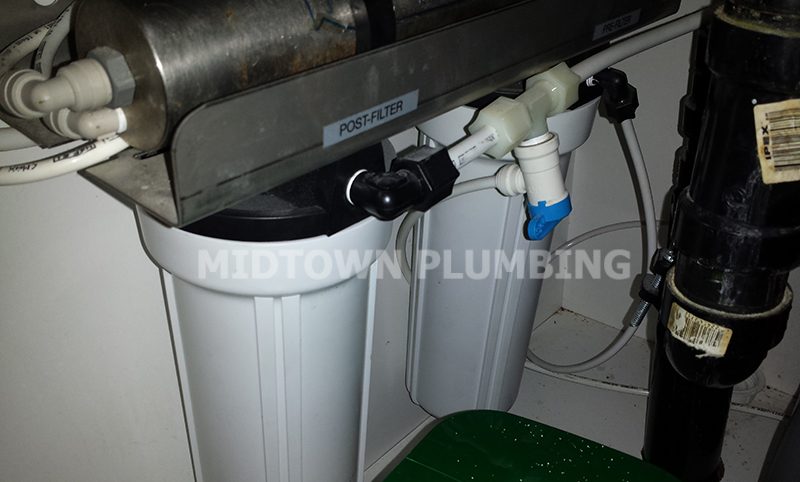 Water filtration systems installation